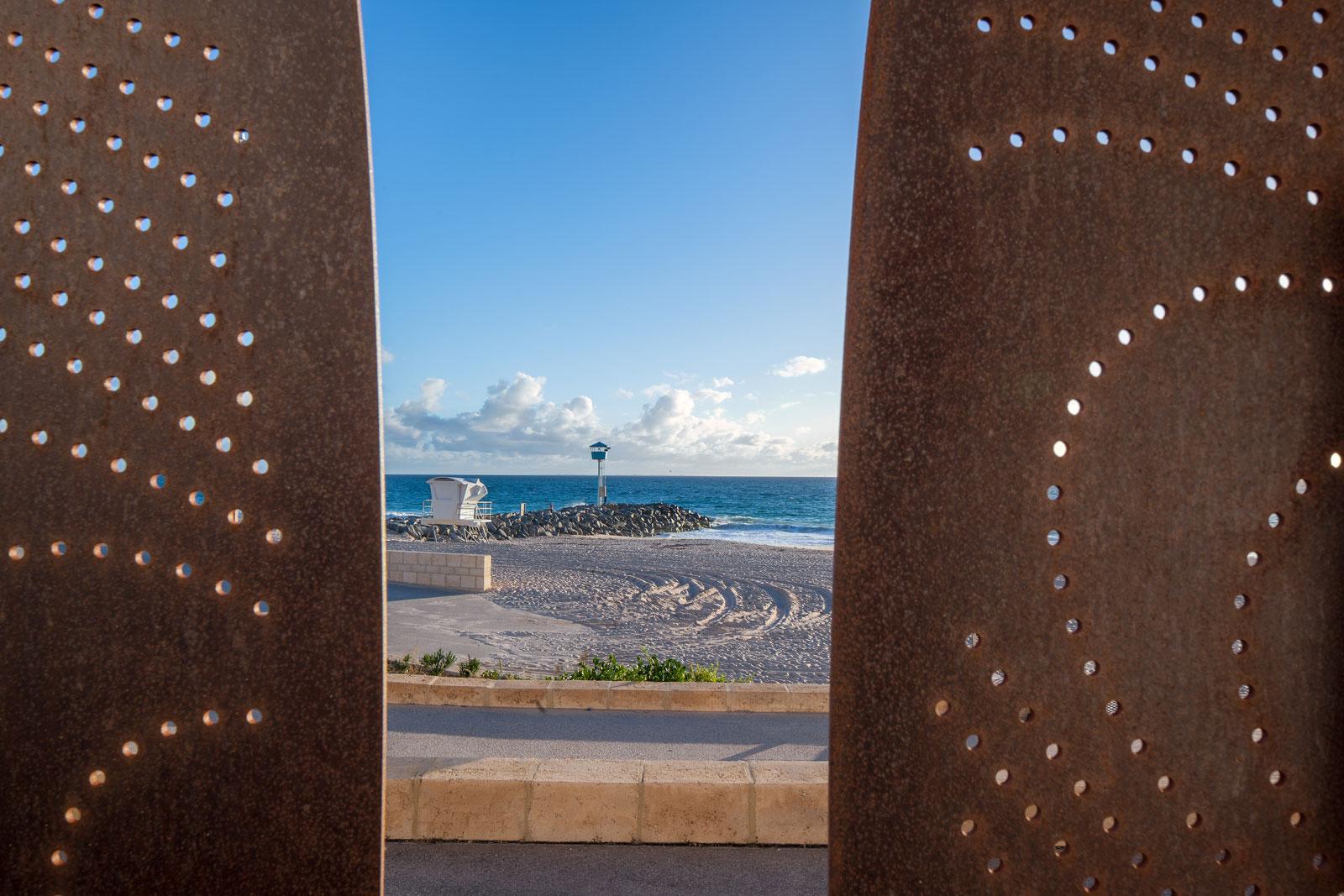 Surf Board Art Sculpture