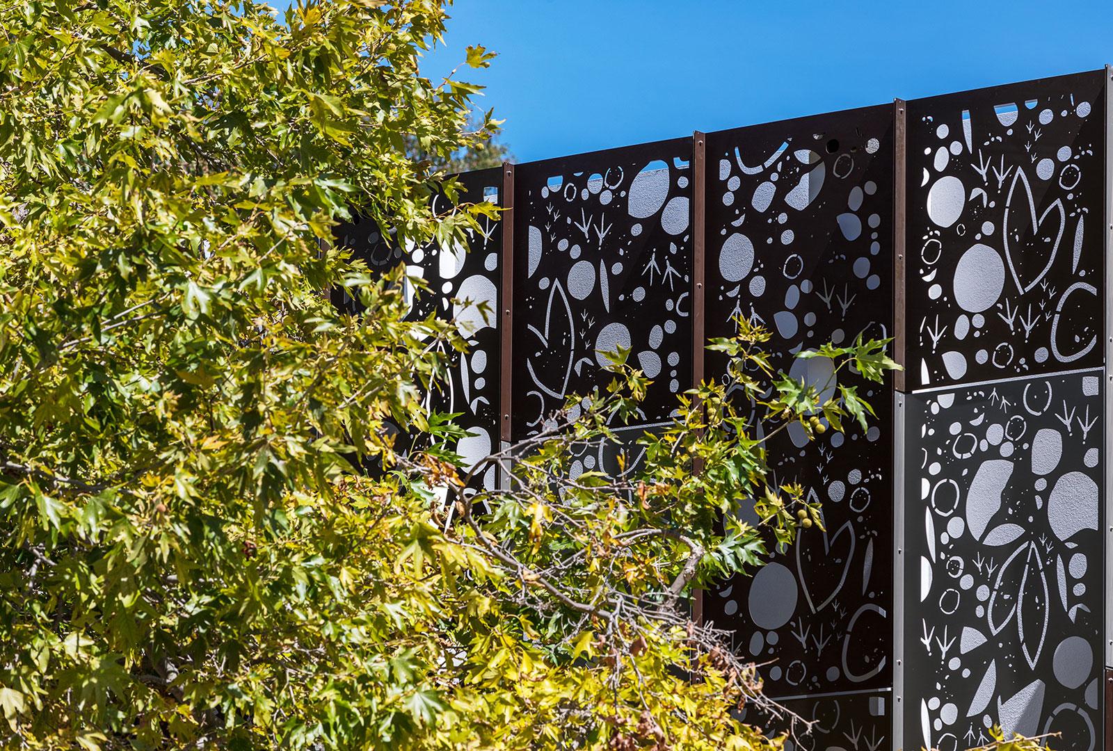 Ballajura Library Facade