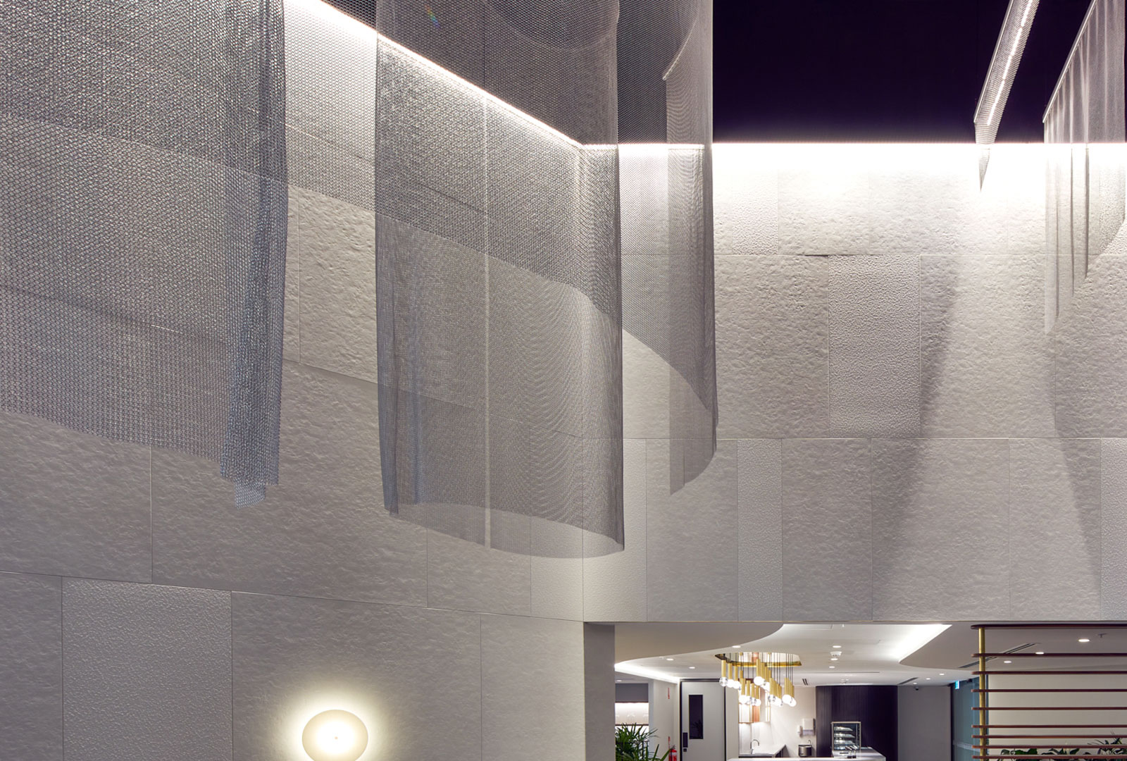 SUPPLY - Alphamesh Ceiling Feature