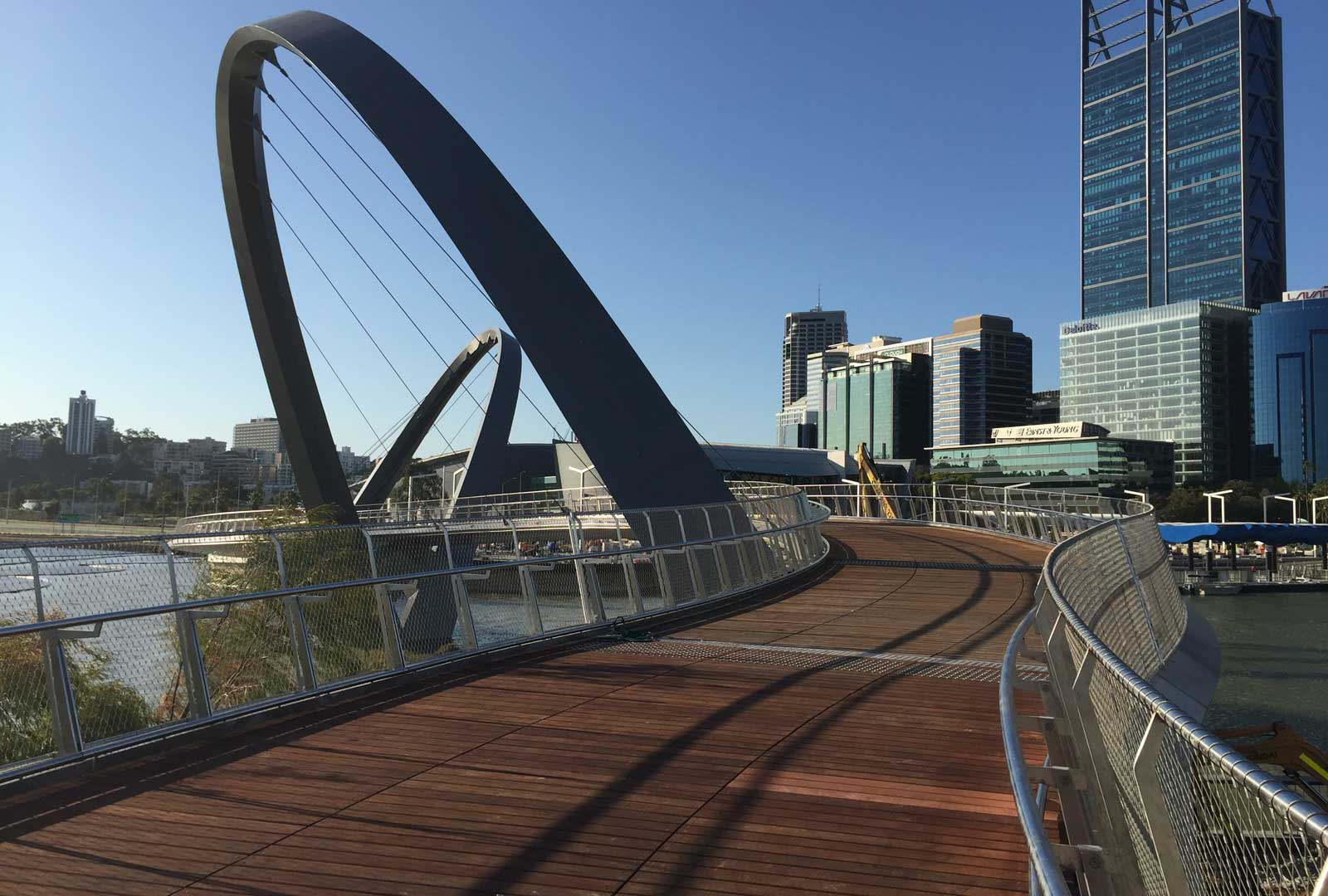 Elizabeth Quay Bridge